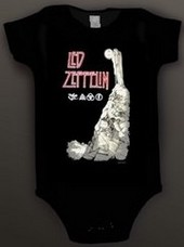 Led Zeppelin Baby Romper