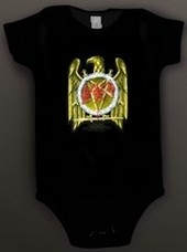 Slayer Baby Romper