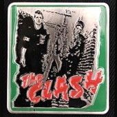 The Clash Belt Buckle