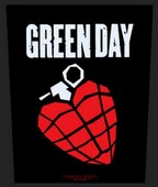 Green Day back patch