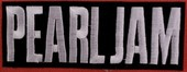 Pearl Jam patch